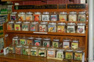 We carry a large selection of Heirloom & Hybrid seeds.